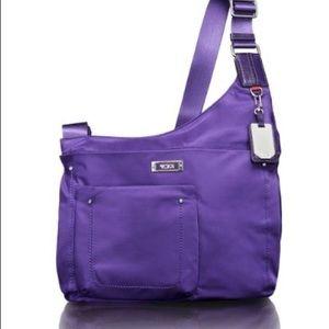 NWT $245~TUMI~Voyageur SUMATRA Cross Body Bag